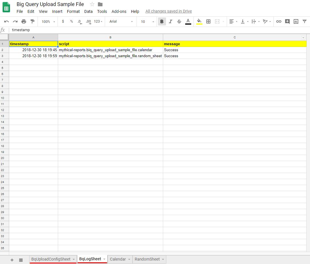 Download Our FREE Google BigQuery Uploader for Google Sheets