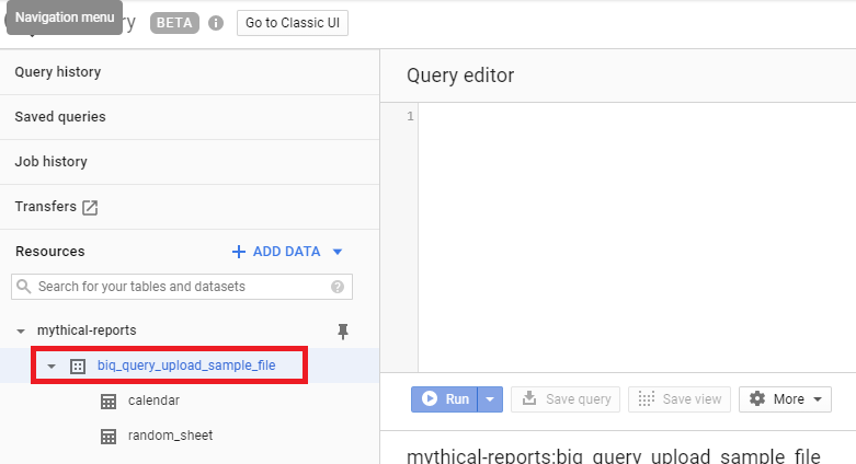 Download Our FREE Google BigQuery Uploader for Google Sheets Add-On